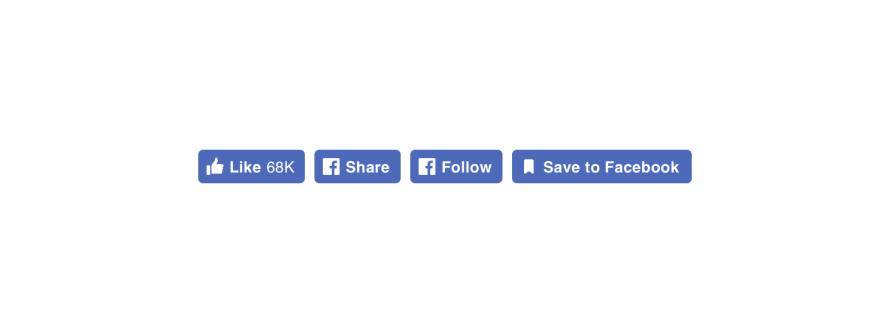 New Social Plugin buttons