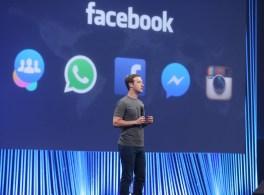 O Facebook realiza a sexta F8 em São Francisco.
