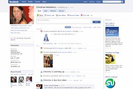 Lançamento do novo Facebook.