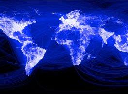 O Facebook chega a 1 milhões de usuários.
