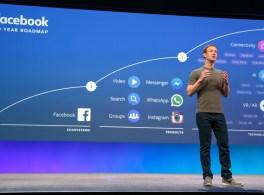O Facebook realiza a sétima F8 em São Francisco.