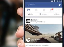 Einführung von 360°-Videos auf Facebook