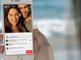 Einführung von Live-Videos für Profile und Collagen