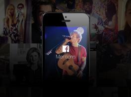 Se lanza la aplicación Facebook Mentions.