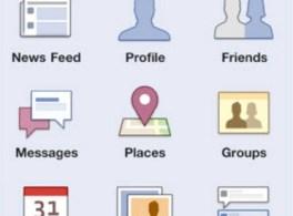 Lancement de Facebook Mobile.