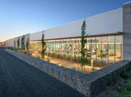 Inauguration du centre de données de Prineville.