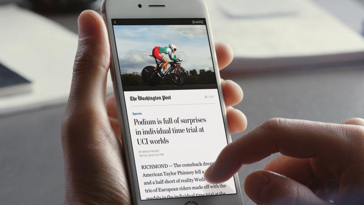 インスタント記事をすべてのメディア媒体社へ4月より提供開始を発表 - Facebookについて