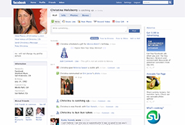 新しいFacebookをリリース