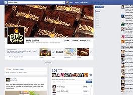 Facebookでは4000万件の中小企業のページがアクティブに運用中。