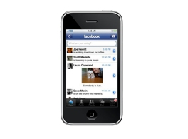 Facebook iPhone 앱 출시
