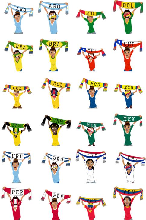 Copa America Stickers [3]