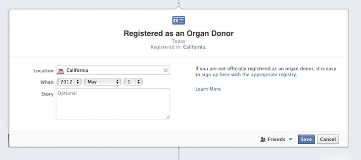 Organ Donation: Life Event