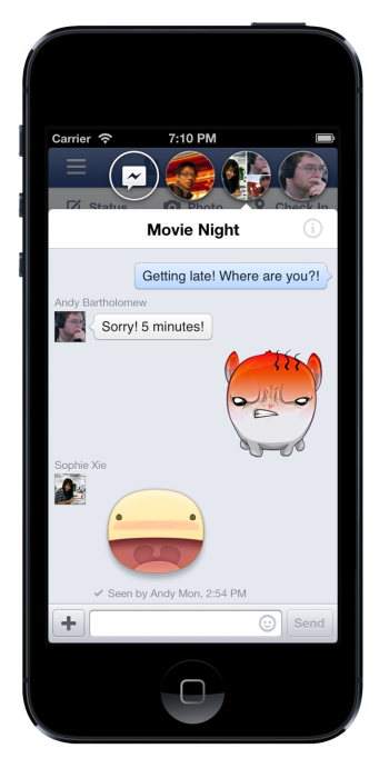 Messaging updates for iPhone and a new look for iPad