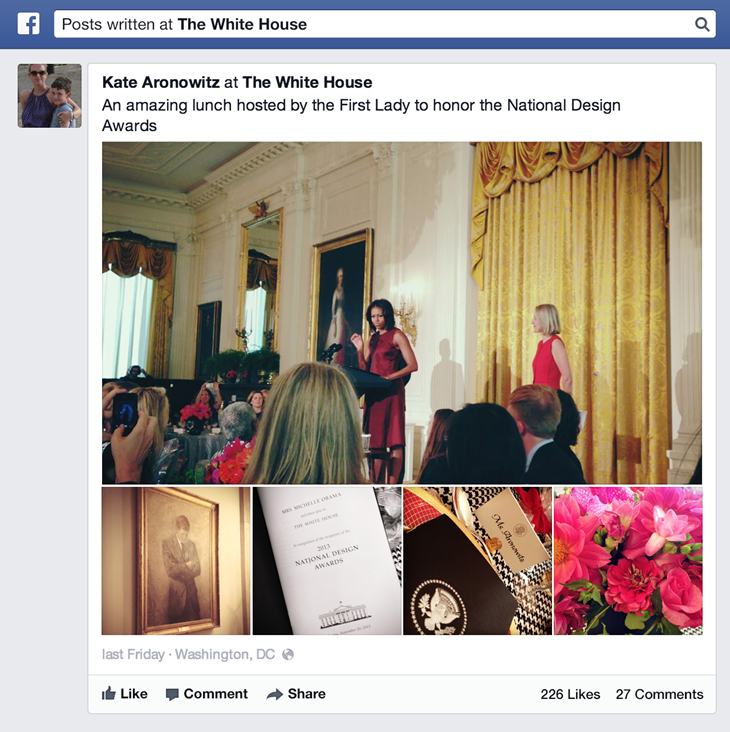 Graph Search now includes posts and status updates