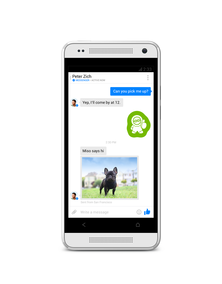 Testing a New Messenger Experience on Android