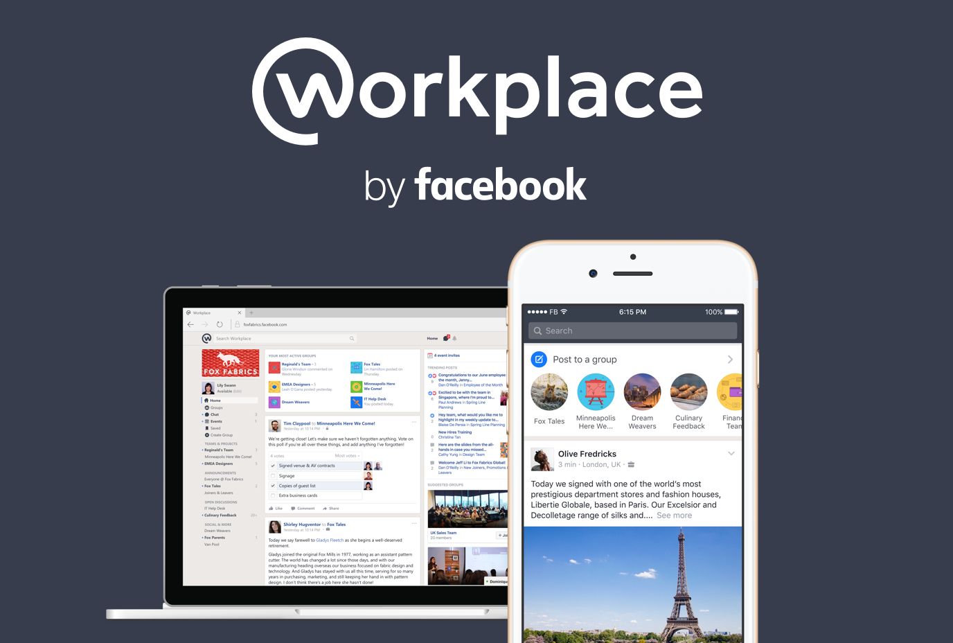 Introducing Workplace By Facebook - About Facebook