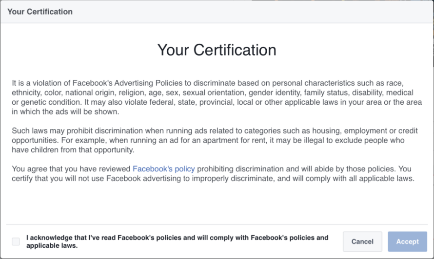 your-certification-notice