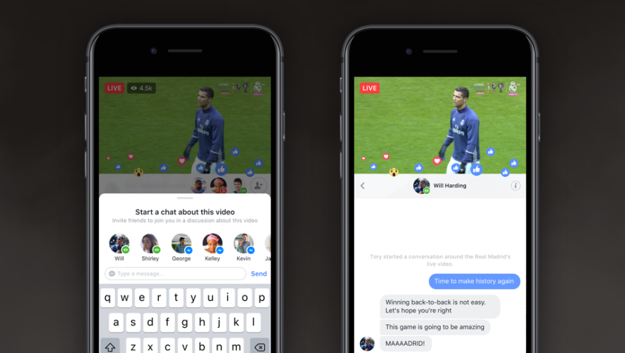 More Ways To Connect with Friends in Facebook Live - About Facebook