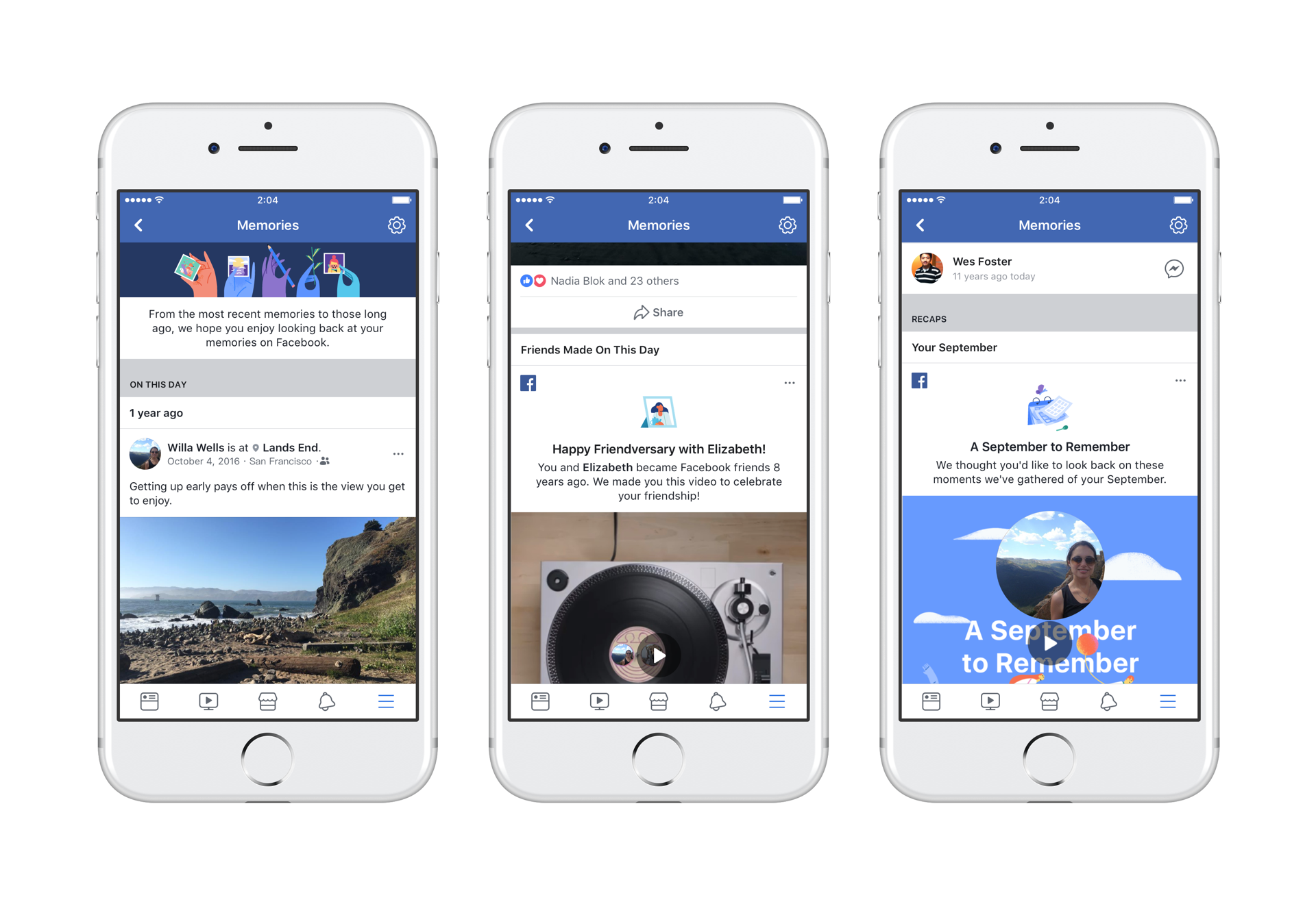 All of Your Facebook Memories Are Now in One Place - About Facebook