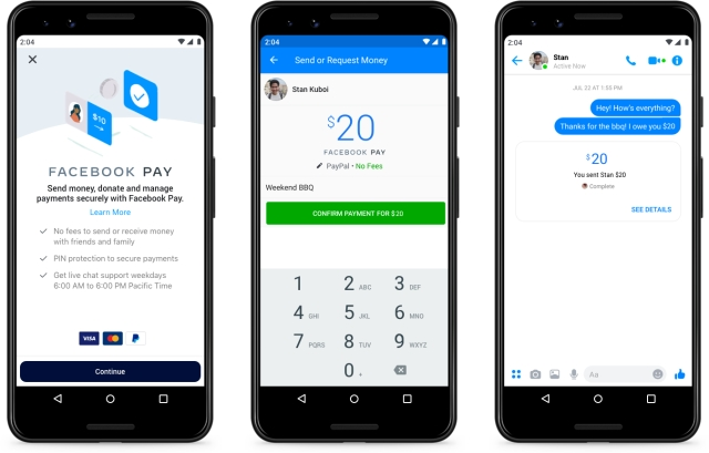 Первый взгляд на работу FB Pay