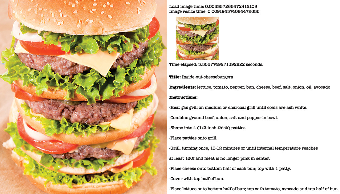 Triple burgers