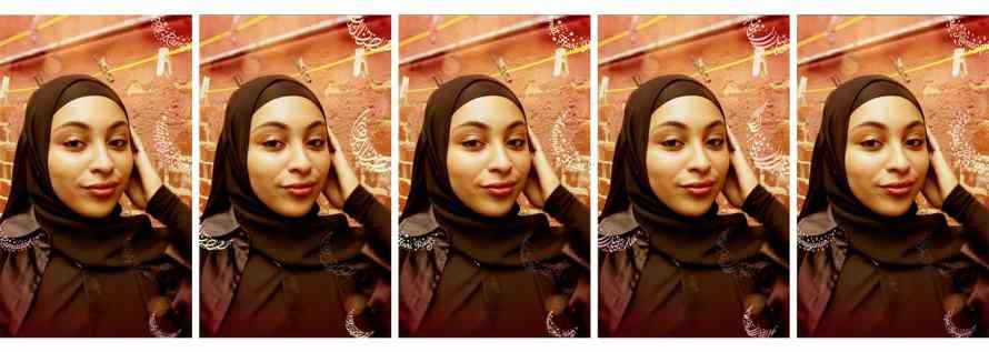 Screenshot of English, Arabic, Bahasa, Farsi and Turkish Lantern effects on photos