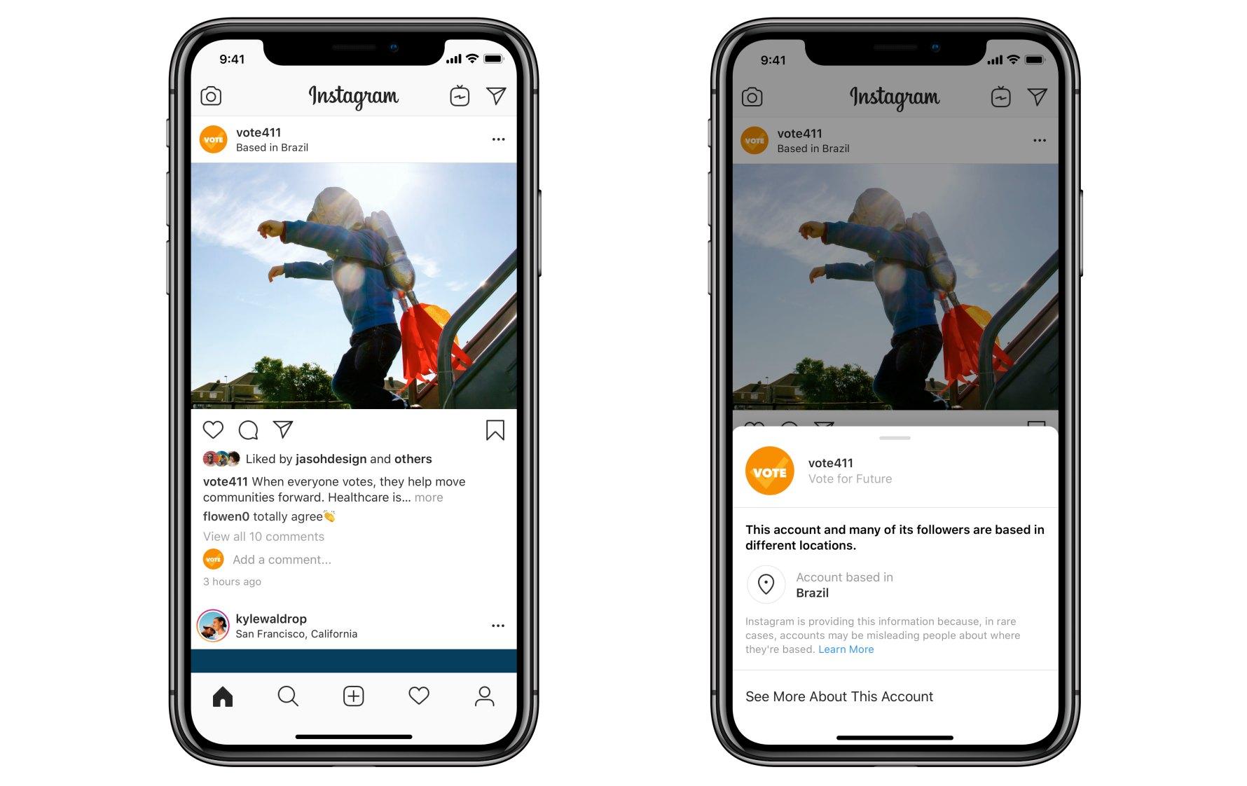 Profili Instagram più sicuri aprile 2020