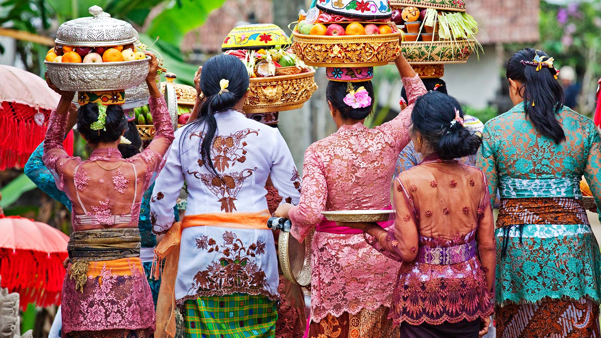 Photo of women in Indonesia