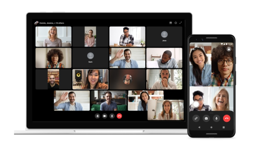 Workplace Rooms group video call