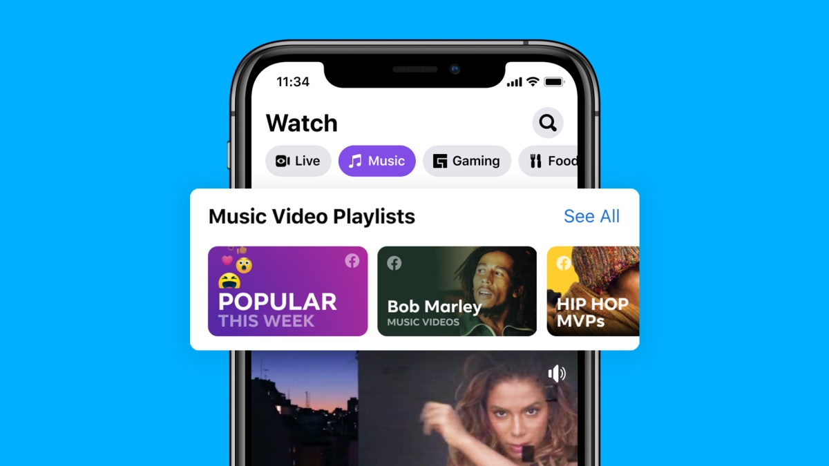 Now Playing: Music Videos on Facebook