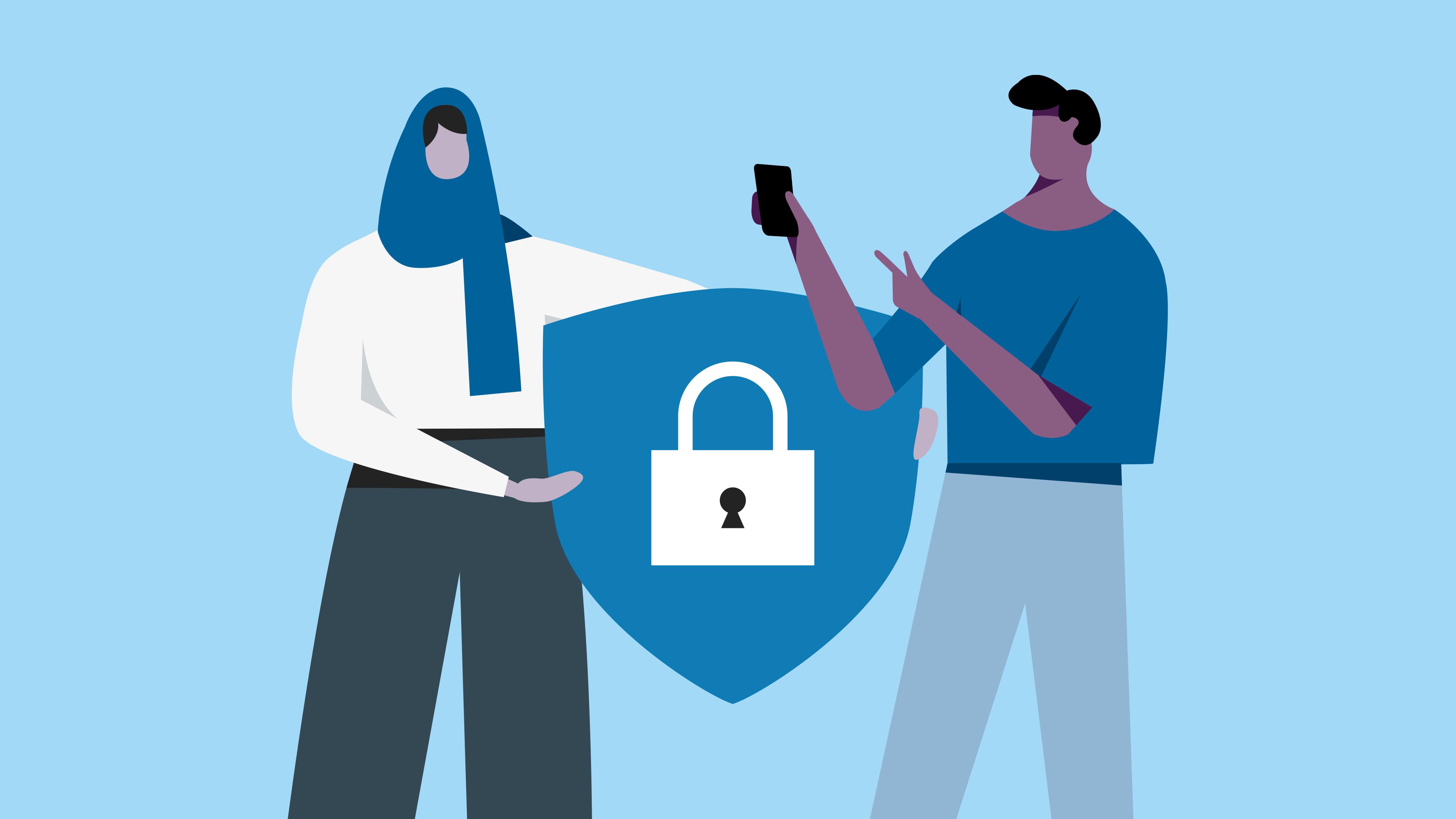 Privacy illustration