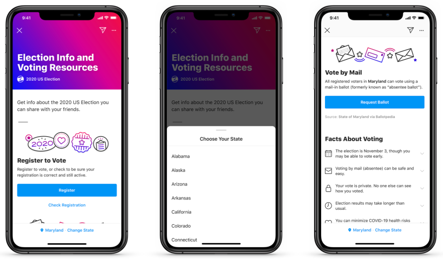 Election Info and Voting Resources on Instagram