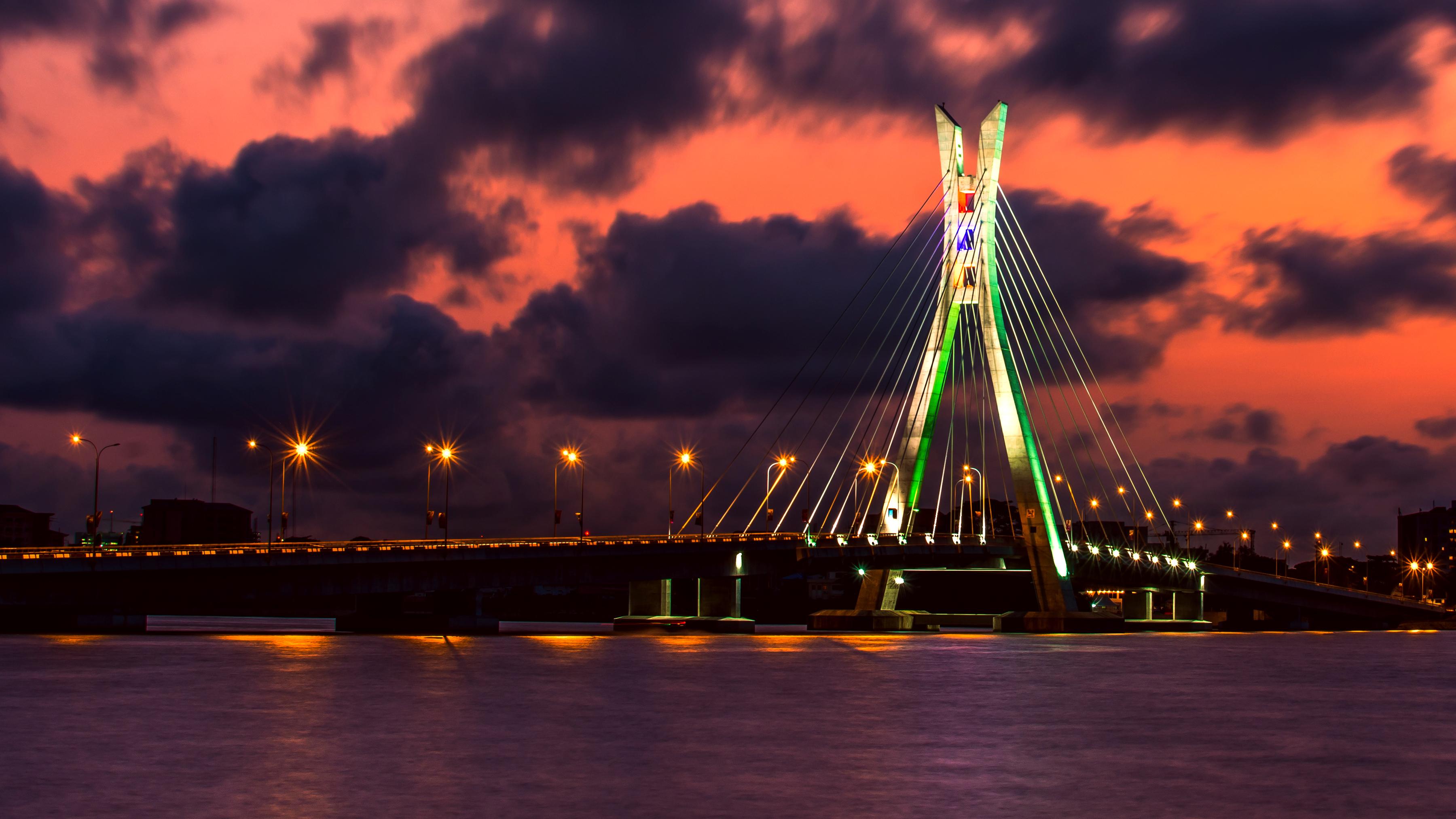 Photo of a bridge - Lagos, Nigeria