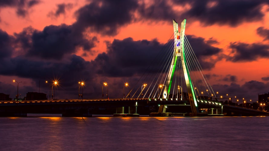 Photo of a bridge - Lagos, Nigeria