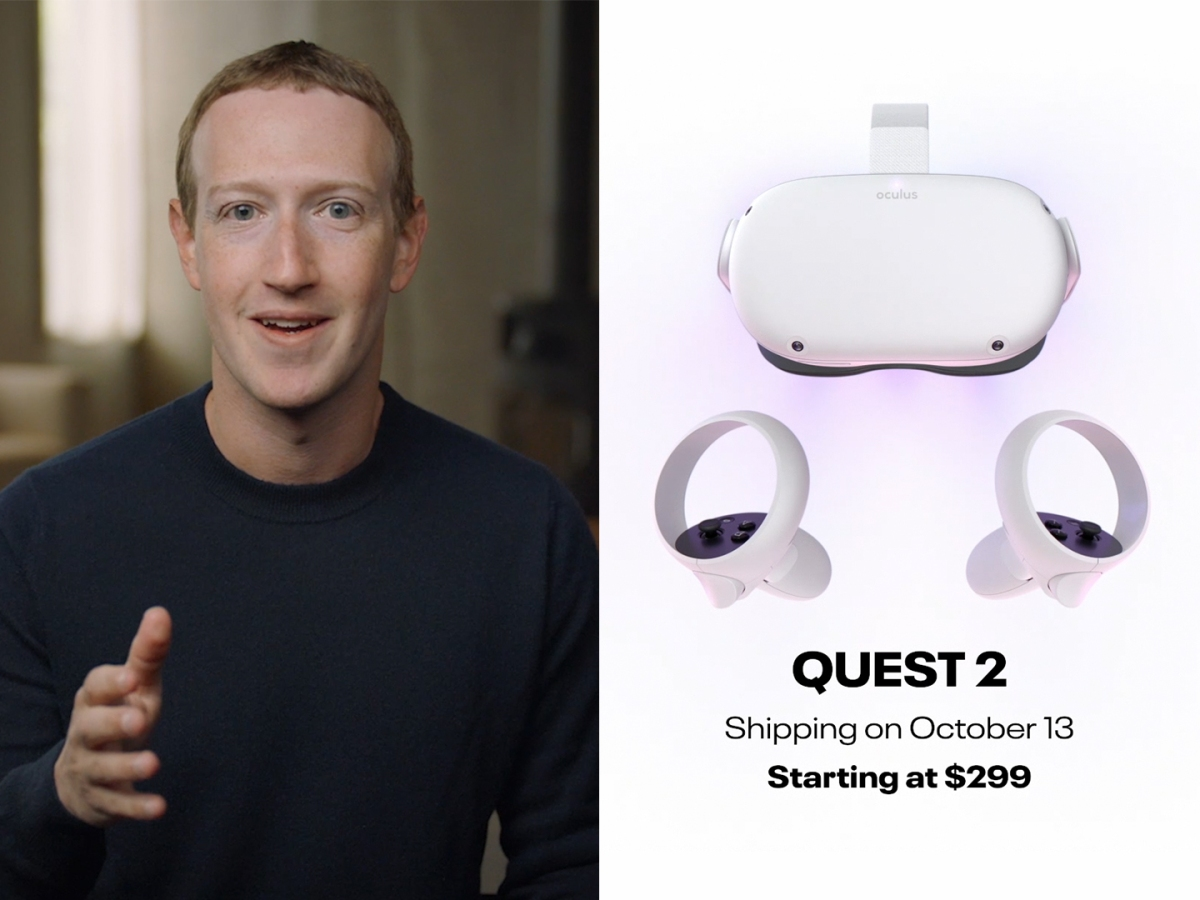 Facebook Connect: Introducing Oculus Quest 2, a Partnership with EssilorLuxottica and More