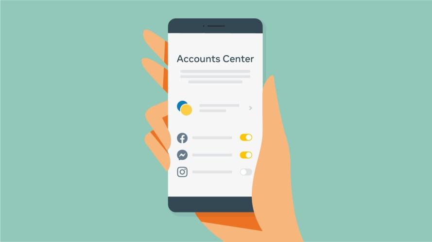 accounts center illustration