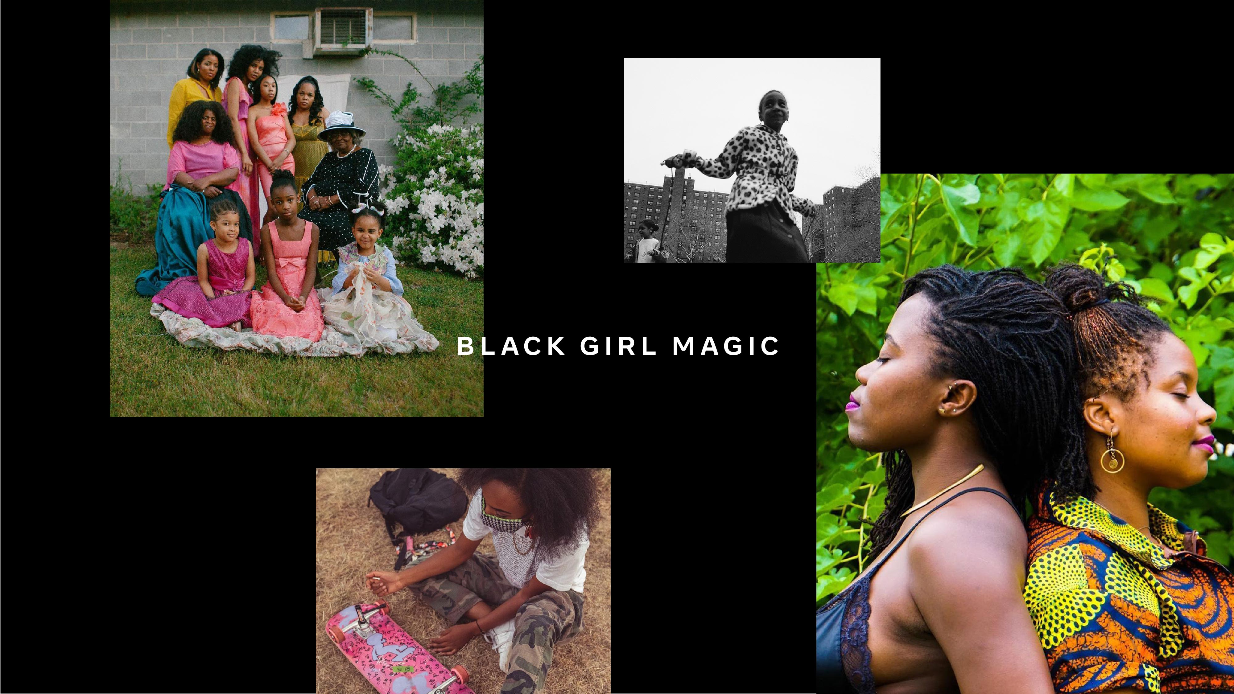 Black Girl Magic photo collage