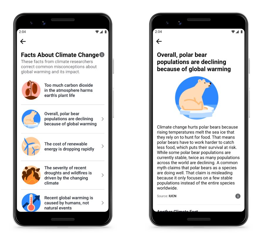Facts About Climate Change product screenshot
