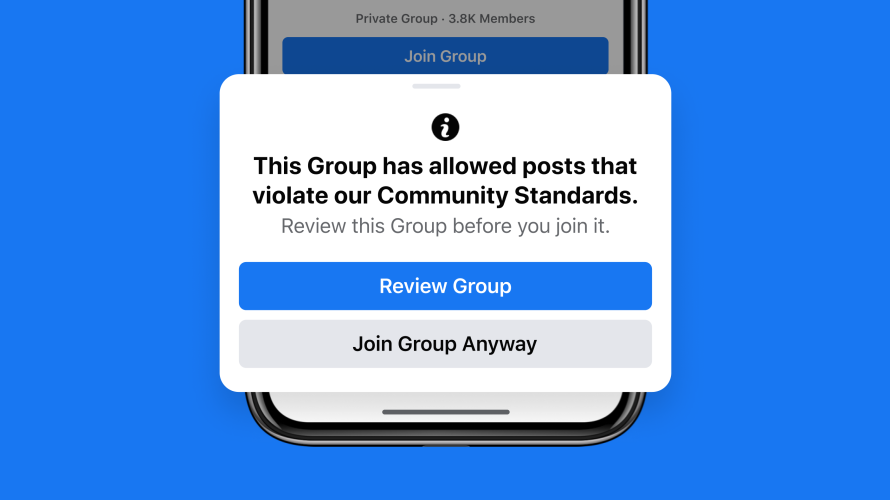 Groups Integrity screenshot