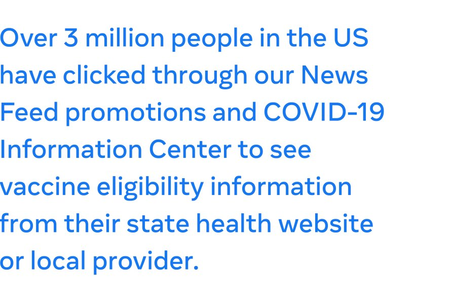 COVID 19 vaccine eligibility notifications pull quote