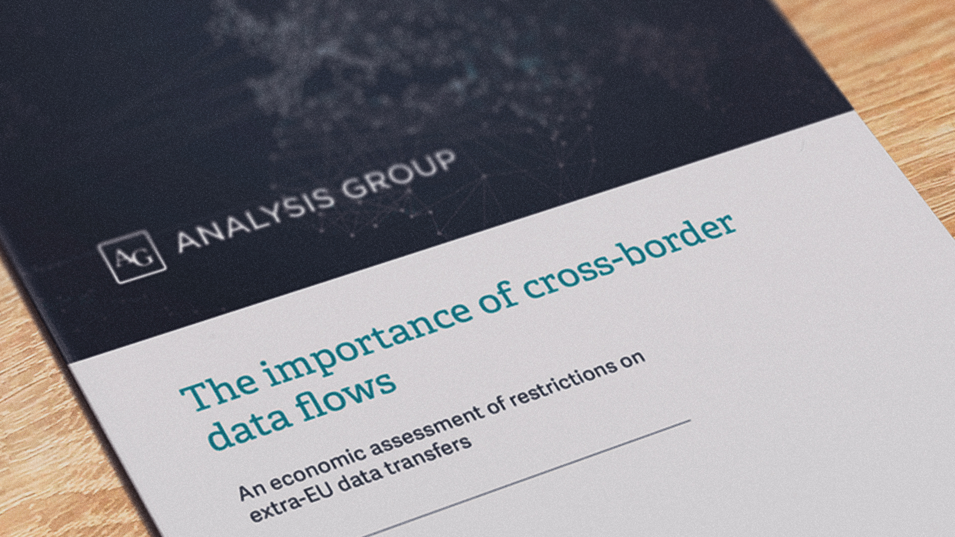 Photo of Cross-Border Data Flows Report by Analysis Group