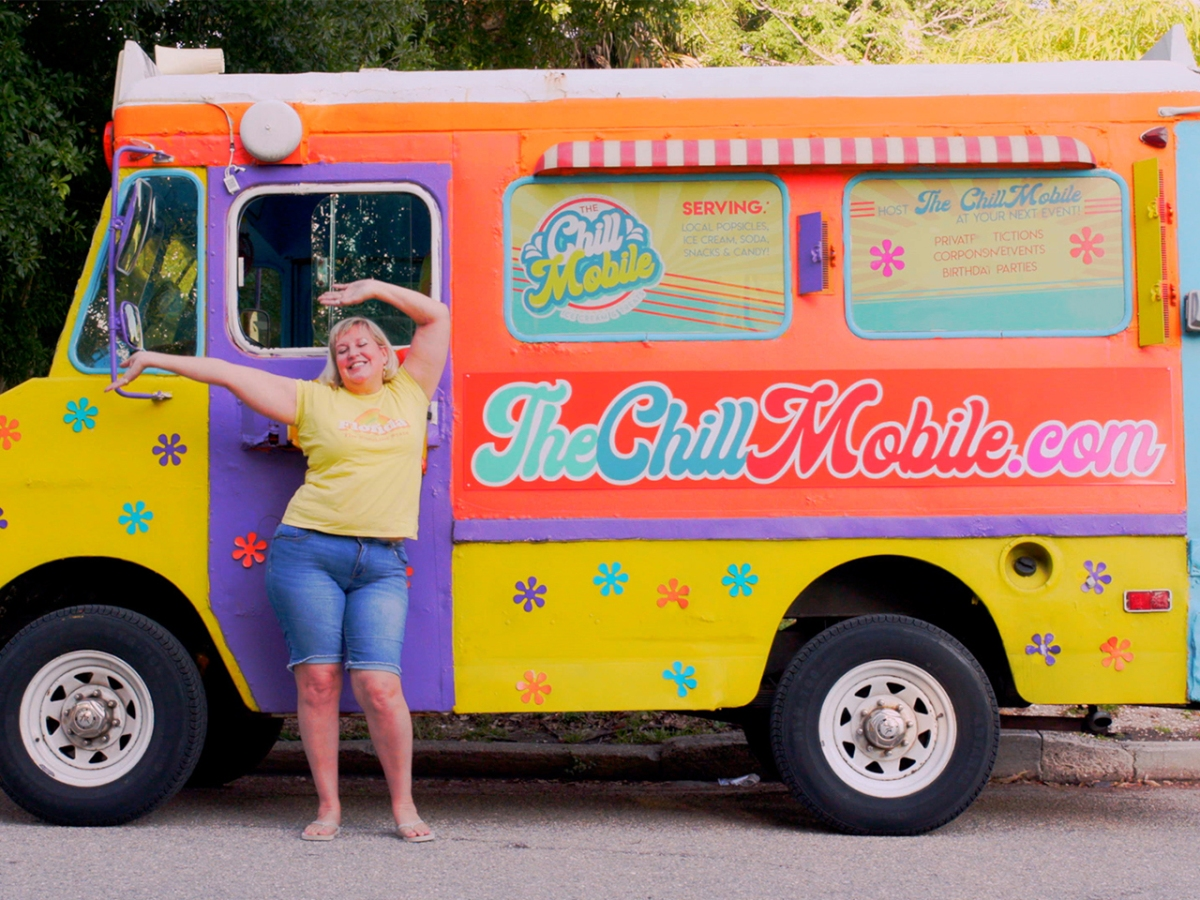 Serving Sweets and Spreading Joy From The ChillMobile