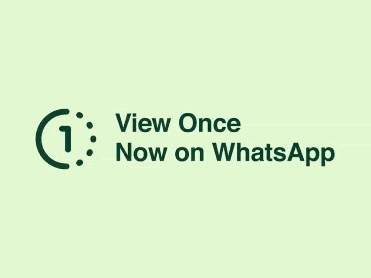 صورة View Once Photos and Videos on WhatsApp