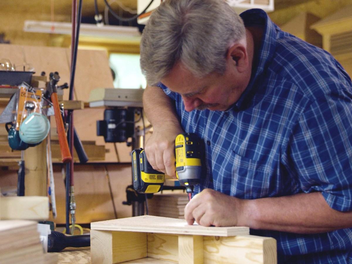 Building Bluebird Houses in Loving Memory
