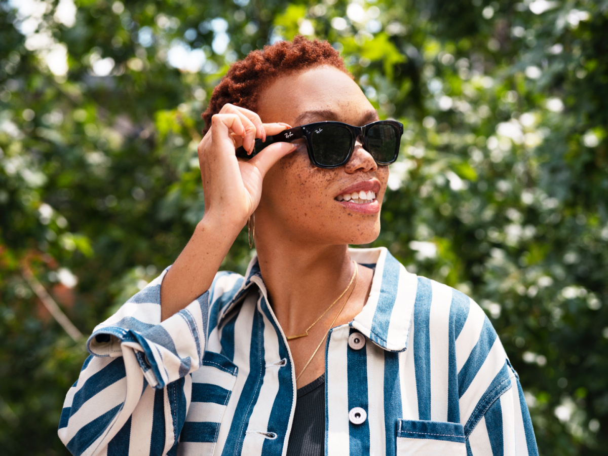 Introducing Ray-Ban Stories: First-Generation Smart Glasses