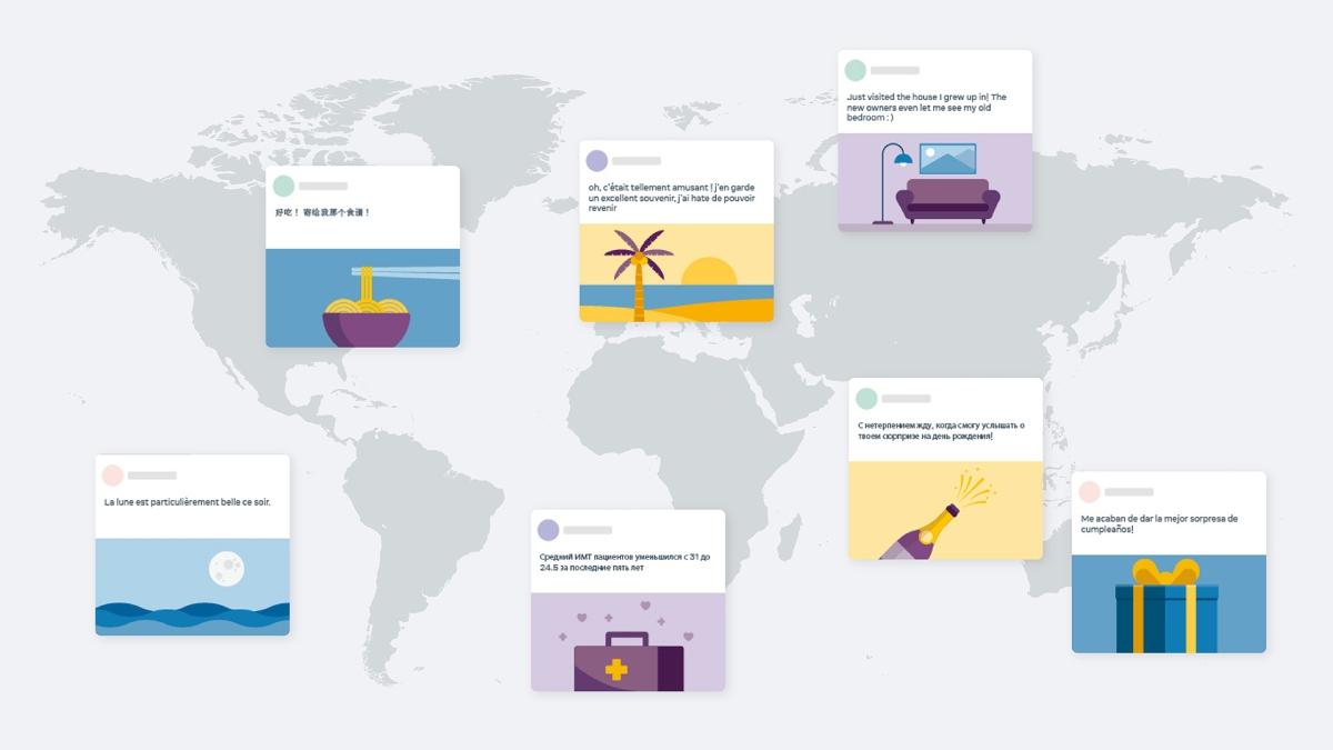 100개국 이상의 데이터로 학습된 다국어 번역 모델과 언어 모델